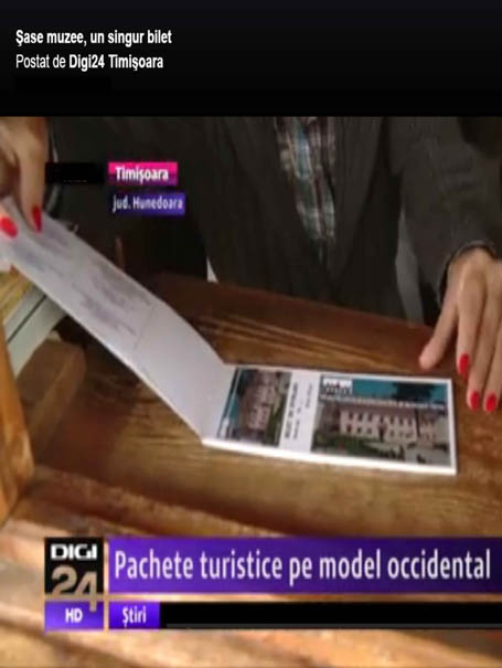 PACHETE TURISTICE PE MODEL OCCIDENTAL - BILET  UNIC DE VIZITARE