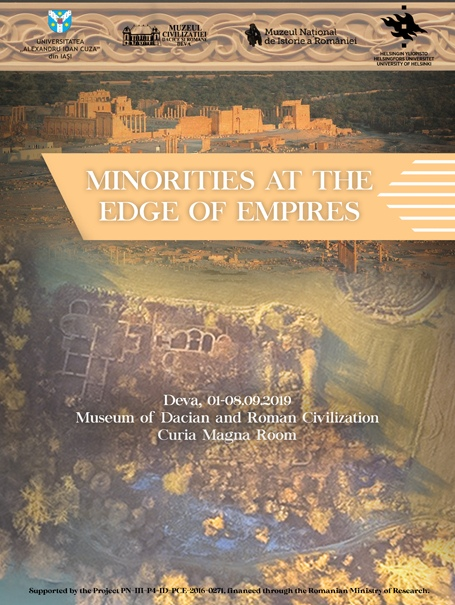 Simpozionul internațional MINORITIES AT THE EDGES OF EMPIRES, 1-8 septembrie 2019